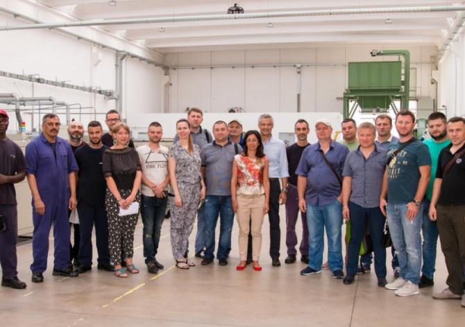 SANDI+ и партнёры на производстве ICMA S.p.A.