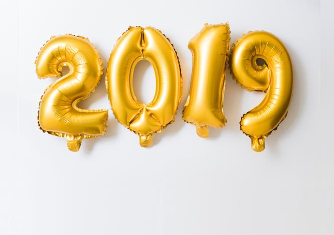 Вітаємо з Новим роком 2019!