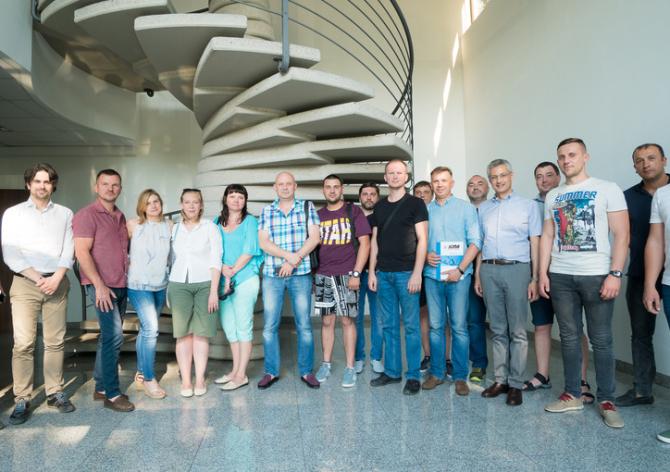 SANDI+ и партнёры на заводе ICMA S.p.A.
