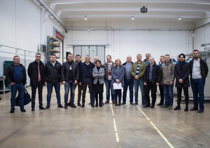 Экскурсия в Италию на завод ICMA S.p.A.