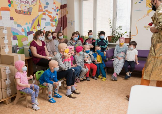 SANDI+ дарит детям эмоции во Всемирный день борьбы с раковыми заболеваниями